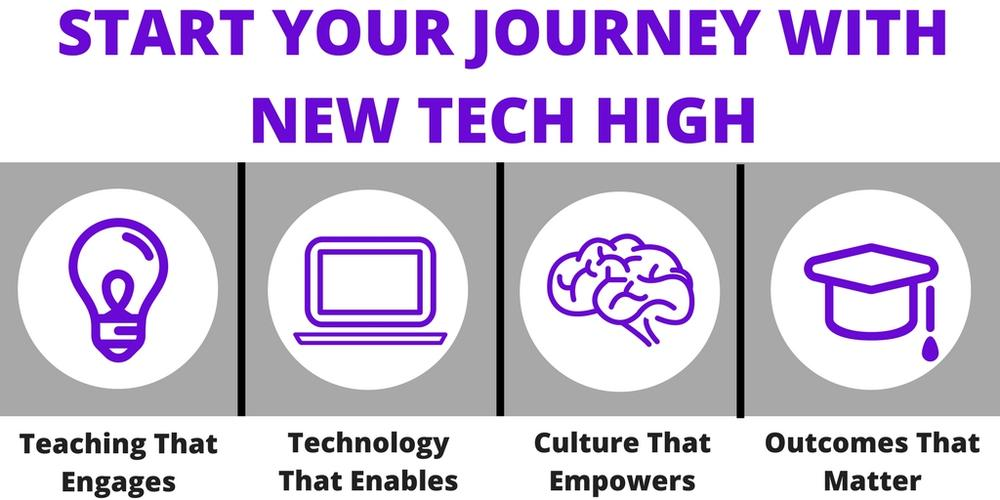 start your journey with new tech high